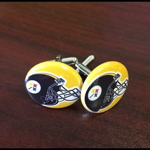 Other - Unique NFL team cuff links.